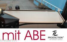 Ablage, LKW Tisch mit ABE passend Mercedes Actros MP4 Ablagetisch beige