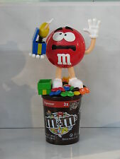 M&M's Candy Dispenser Red magician gift box Surprise used rare