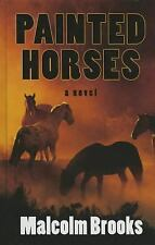 Painted Horses (Thorndike Press Large Print Reviewers' Choice)-ExLibrary
