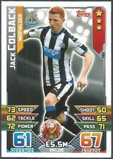 TOPPS MATCH ATTAX 2015-16- #193-NEWCASTLE UNITED-JACK COLBACK