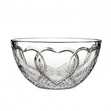 "Waterford Crystal Wedding Bowl 8"" inch Hearts New"