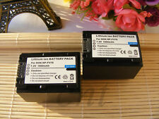 NP-FV70 NPFV70 Battery x2 for Sony HDR-CX330 HDR-CX900 HDR-PJ810 FDR-AX100