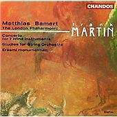 CHANDOS CHAN 9283 BAMERT ~ MARTIN ~ CONCERTO FOR 7 WIND INSTEUMENTS