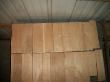 25 PC MAPLE & WALNUT LUMBER WOOD KILN DRIED BOARDS LOT 216D CLEAR FLAT