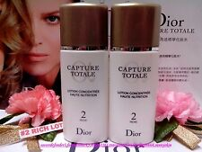 """Dior Capture Totale Multi-Perfection Lotion Concentree (50ml x 2) """" FREE POST!"""""""