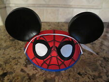 NEW Marvel Disney Parks Spider-man Mickey Mouse Ears Hat- One Size- NWT