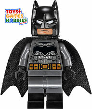 *NEW* LEGO Batman Minifigure Minifig from 76045 Superman Clash Dark Grey Suit