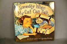 Someday When My Cat Can Talk children's book illustrated Caroline Lazo Brooker