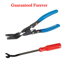 Car Door Upholstery Trim Clip Removal Pliers & Tool combo Dash Panel Quality