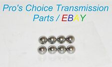 "GM GMC Chevy 4L60E 4L65E 4L70E STEEL Valve Body Check Balls 1/4""  .250"" 8-Piece"