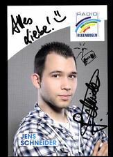 Jens Schneider Radio Regenbogen Autogrammkarte Original Signiert ## BC 37849
