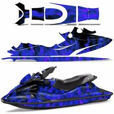 Decal Graphic Wrap Kit Jet Ski Jetski Bombardier Parts Sea-Doo GSX 96-99 ICE BLU