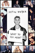 Justin Bieber - Grid Poster #52 Size 61 x 91.5cm. FAST 'N FREE DELIVERY