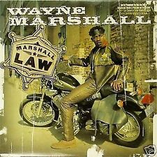 WAYNE MARSHALL 'MARSHALL LAW' US IMPORT LP PROMO COPY