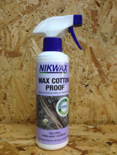 Nikwax Cotton Proof 300ml Spray-on Waterproofing waxed Jackets Worldwide Barbour