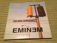 EMINEM - SPANISH CD SINGE SPAIN REAL SLIM SHADY CARD SLV 1 TRACK PROMO HIP HOP
