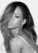 Rihanna Poster Print A4 260gsm