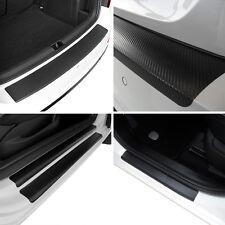 Set Carbon Ladekantenschutz und Einstiegsleisten Opel Astra K Tourer Carbonfolie