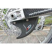 PRO CARBON Fibre Rear Disc Brake Guard Cover YAMAHA YZ YZF WRF 125 250 450