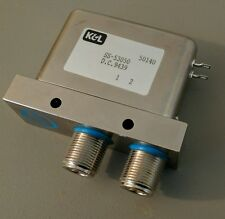 K&L coaxial relay Type N Single Pole Single Throw SPST 28V SS-53050