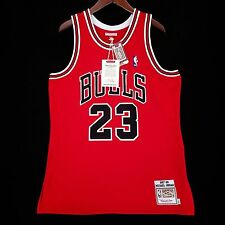 100% Authentic Michael Jordan Mitchell Ness 97 98 Bulls NBA Jersey Size 44 L