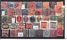 Deutsches Reich,Lot Dienstmarken aus  4 - 74  sauber gestemp.,siehe Scan (28)