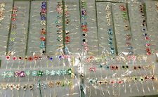Wholesale Pack of 12 Hijab Pins Girls/Ladies Hair Scarf Safety Pin Womens Brooch