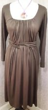 BNWT Phase Eight-8 Chocolate Lucy Jersey Dress Size 16