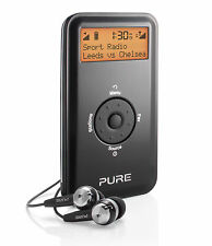 Pure Move 2500 Portable Pocket Personal DAB Radio Digital FM Rechargable Black