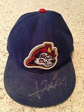 Hak Ju Lee South Korea Chicago Cubs Chiefs Game Used Worn Signed Hat