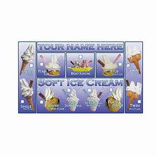 Ice Cream Van etiqueta engomada, se verán bien en su ventana
