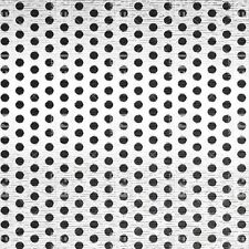 """Perforated 316 Stainless Steel Sheet .03"""" Thick x 36"""" x 40"""", .0625"""" Hole Dia."""
