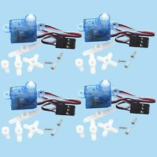 4pcs rc Servo mini micro 3.7g for Rc helicopter Airplane Foamy Plane U