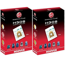 10 x HOOVER H30S Purefilt Bags for T Series Vacuum Cleaners Genuine H30 Super