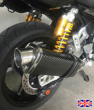 Yamaha XJR1300 07-15 SP Engineering Carbon Fibre Tri-Oval Big Bore XLS Exhaust