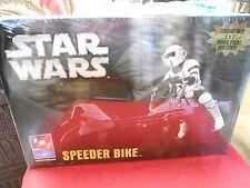 """NEW-Never Opened- Model Kit-AMT Ertl- STAR WARS """"Speeder Bike"""",..."""