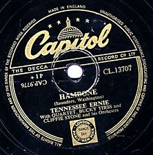 TENNESSEE ERNIE FORD 78  HAMBONE / THE GANDY DANCERS BALL  UK CAPITOL CL13909 EX