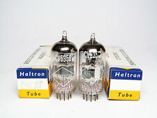 Matched pair NOS cv5358-ecc88-6dj8 - haltron-own Box-MIL bastone