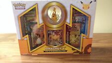 PIKACHU EX Red and Blue Collection Box Factory Sealed NEW 4 Generations Packs