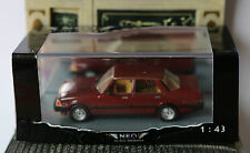 MAZDA 626 MK1 SEDAN METALLIC RED 1981 NEO 44010 1/43 LHD LEFT HAND DRIVE ROUGE