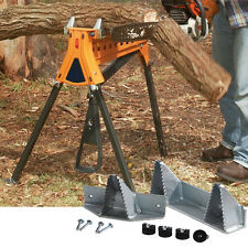 Log Jaws Saw Horse Wood Timber Holder Clamp 300mm Sawing Chainsawing Drilling
