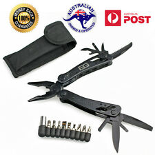 GERBER 22 IN 1 BLACK STAINLESS STEEL MULTI TOOL AND FREE NYLON POUCH