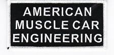 AMERICAN MUSCLE IRON ON PATCH EMBROIDERED FORD CHEVROLET DODGE HEMI MUSTANG CAR