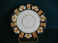 "Royal Albert Crown China Imari Colors Gold Trim 6 1/4"" Bread and Butter Plate(s)"