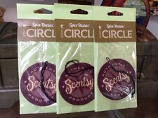 "Lot 3 Scentsy Scent Circle Air Fresheners ""Spice Bazaar"" Car Home Anywhere!"