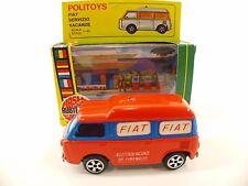 Politoys n° E24 Fiat 850 servizio assistenza vacanze 1/43 neuf boite boxed rare
