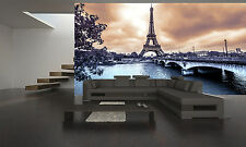 Paris Eiffel Tower, Vintage Wall Mural Wallpaper GIANT WALL DECOR PAPER POSTER