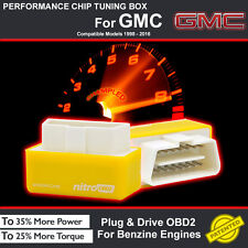 POWER BOX CAR AUTO CHIP TUNING ECU REMAPPING REMAP PERFORMANCE UPGRADE For GMC