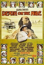 Death On The Nile movie poster  : 11 x 17 inches Agatha Christie, Peter Ustinov