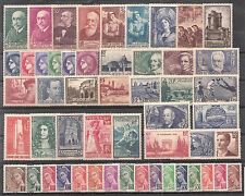 Timbres France neufs** - Année 1938 complète avec 398